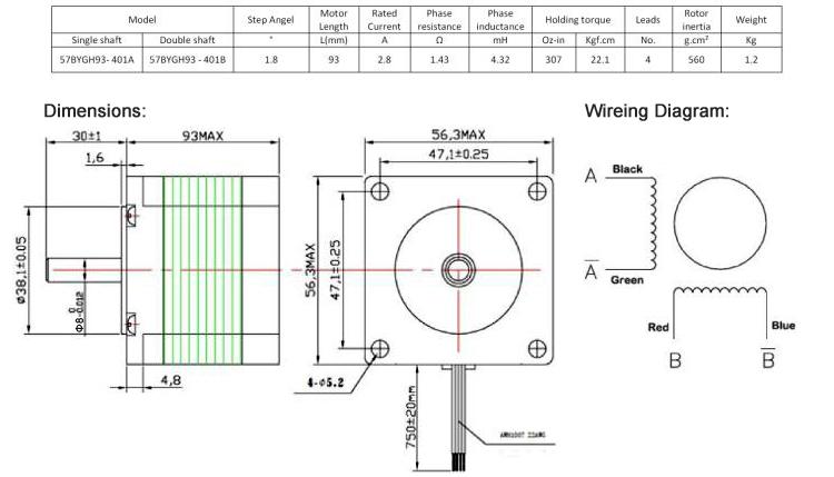 3 axis cnc kit 2 2 nm motor 24v15a psu handle draw tite wiring diagram 6 pin plug