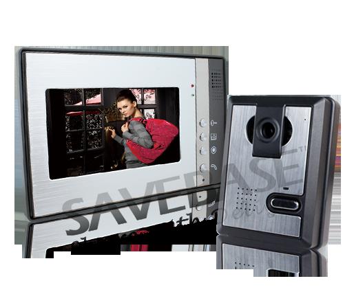 t rsprechanlage video gegensprechanlage 7 tft monitor nachtsicht t r ffner ebay. Black Bedroom Furniture Sets. Home Design Ideas