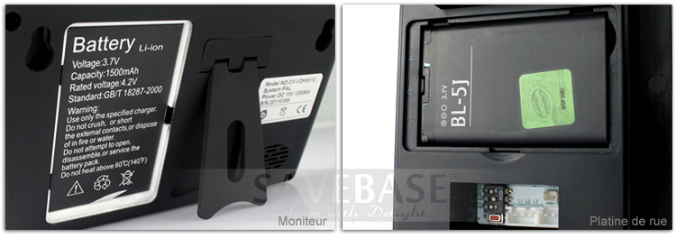 apriporta video interphone senza fili 2 4ghz monitor schermo 3 5 tft lcd ebay. Black Bedroom Furniture Sets. Home Design Ideas