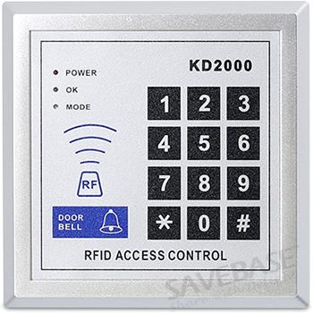 home improvement rfid access control diy full kit set with magnetic door lock. Black Bedroom Furniture Sets. Home Design Ideas