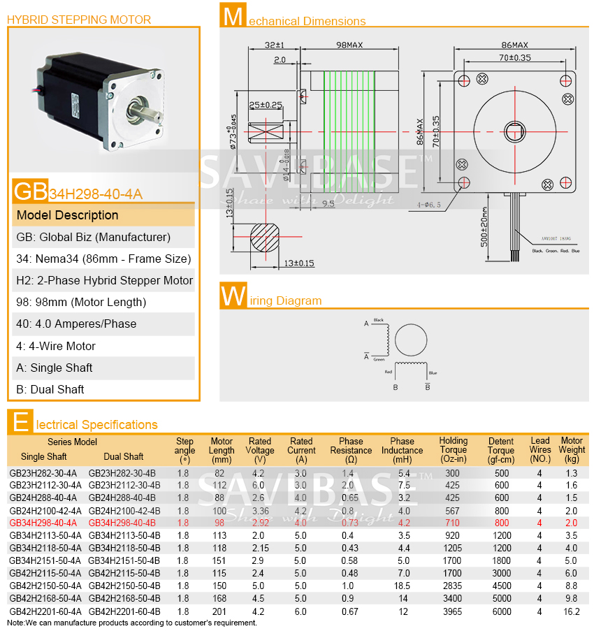 nema 34 wiring diagram