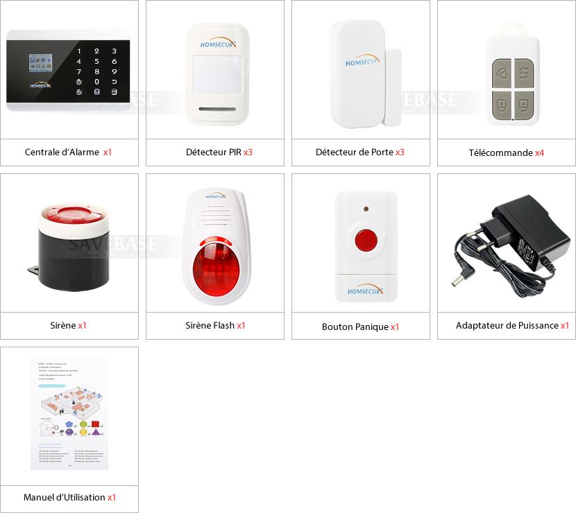2014 alarme maison app contr le distance bouton sos avec for Alarme maison iphone