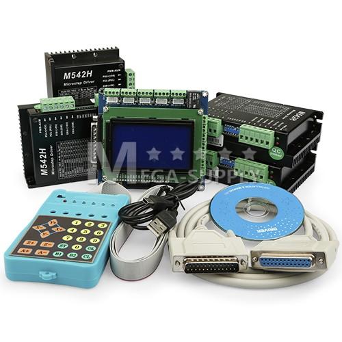 CNC 4Achse M542H Schrittmotor Endstufe 1.0-4.5A Steuerung Mit ...