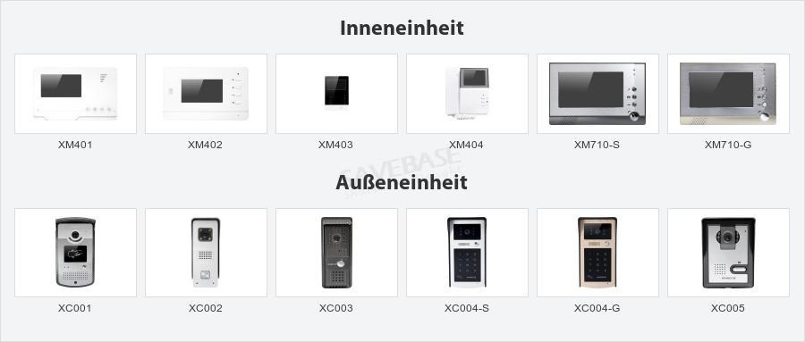 4 3 video t rsprechanlage gegensprechsystem mit intra monitor audio intercom ebay. Black Bedroom Furniture Sets. Home Design Ideas