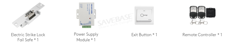 Fail Safe Strike Lock Power Supply Module for HOMSECUR Video Door Intercom Kit