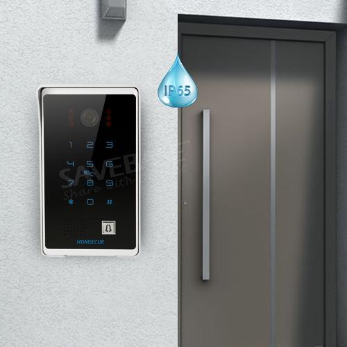 Homsecur 7 U0026quot  Video U0026audio Smart Doorbell With Password  Card